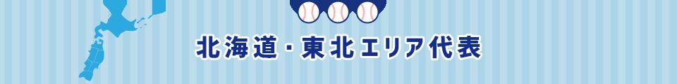 北海道・東北エリア代表