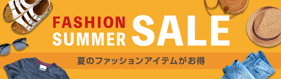 FASHION SUMMER SALE